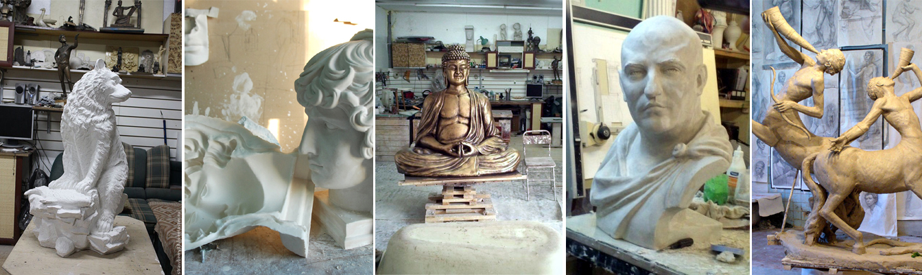 Как сделать скульптуру из гипса своими руками 61